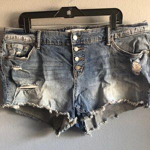 High waist size 16 Torrid shorts 3.5 inch inseam.